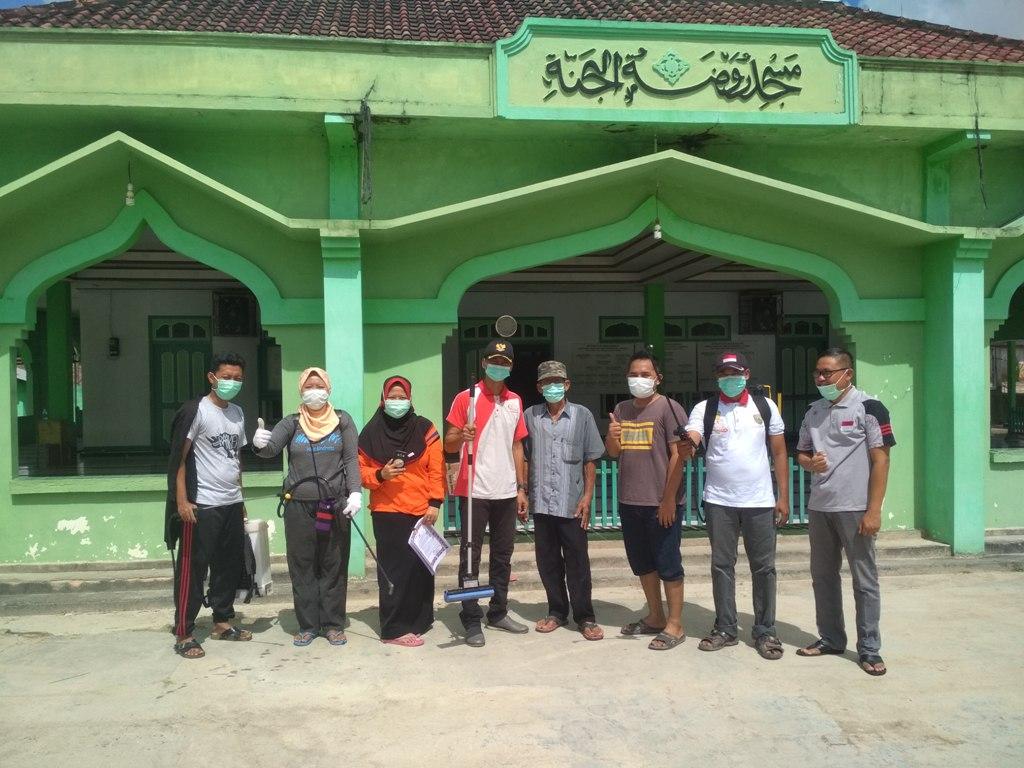 UPAYA PENCEGAHAN PENYEBARAN COVID-19 (Coronavirus) di Desa Amin Jaya
